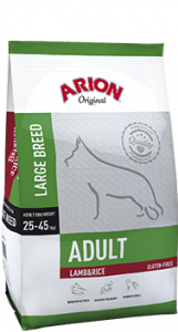 Arion Original Adult Large Lamb & Rice (Lammas & Riisi)