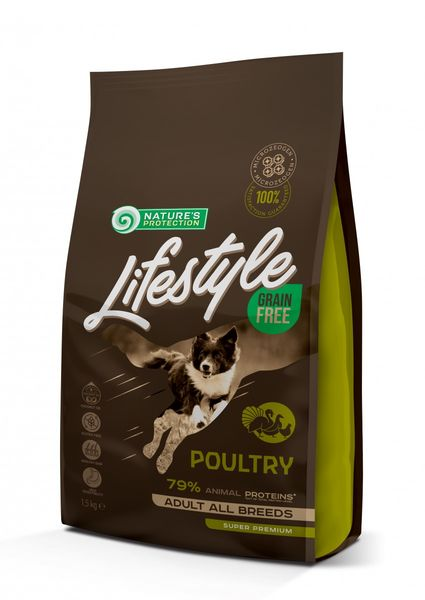 Nature's Protection Lifestyle Grain Free Poultry (Siipikarja)